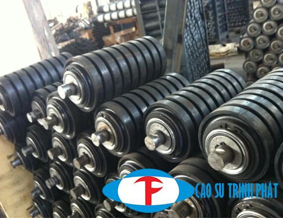 Rulo bọc cao su là bộ phân quan trọng trong lĩnh vực băng tải